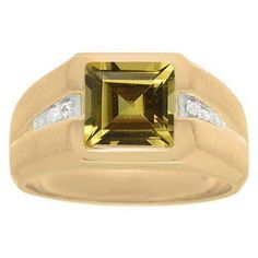 Diamond and Yellow Gold Men's Square Cut Citrine Ring Gemologica.com offers a unique, simple selection of handmade fashion, fine statement jewelry for men, woman, kids. Earrings, bracelets, necklaces, pendants, rings, gemstones, diamonds, birthstones in Silver, yellow, rose, white, black gold, titanium, silver metal. Shop @Gemologica jewellery for cool cute design ideas #gemologica Use *coupon* PIN for 10% off at www.gemologica.com now! Gemologica Customer Reviews on Pinterest