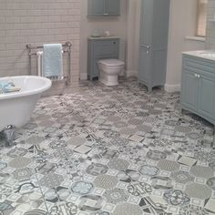 60x60 Flow Vintage Floor Tiles - Crown Tiles