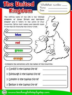 "ESL resources on the topic ""The United Kingdom"""