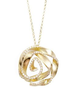 Flower Power by Nada G **this would kind of be like our swirl necklace if we added diamonds!!