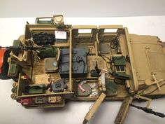 """M1113 Dumvee """"Zielone Berety"""" w zimowym Afganistanie 1:35"""