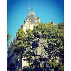 #Béziers #latergram  #Statue de #Riquet par David d'Angers #DavidDAngers #igersfrance #ig_france #igers_herault #herault #sculpture #carving