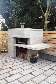 Now You Can Build ANY Shed In A Weekend Even If You've Zero Woodworking Experience! Start building amazing sheds the easier way with a collection of shed plans! Brick Shed, Parrilla Exterior, Oven Diy, Pizza Oven Outdoor, Brick Oven Outdoor, Modern Outdoor Pizza Ovens, Modern Ovens, Build A Pizza Oven, Brick Oven Pizza