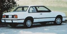 The 1984 Chevrolet Cavalier, the world's most boring car and my first.