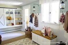 Easy organization projects multitasking mudroom with coat hooks