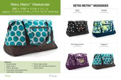 Retro Metro Weekender Available Sept 1 2017 Www Mythirtyone Thirty One