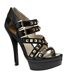 MICHAEL Michael Kors Aria Platform Sandals - LOVE them in brown!