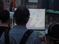 We need you! Filmvorführungen zu Massentierhaltung am Stephansplatz. Vielleicht habt ihr uns ja schon einmal gesehen - wir sind fast...