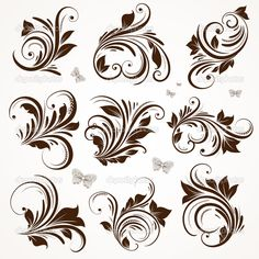 depositphotos_15642269-Vector-set-calligraphic-design-elements-and-page-decoration.jpg (1024×1024)