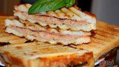 Zapečená cuketa s mozzarelou – RECETIMA Sandwiches, Food, Essen, Meals, Paninis, Yemek, Eten