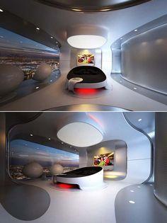 #futuristic #bedroom