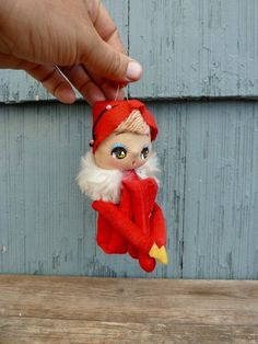 """Just For Keeps Vintage Nos Miniature Mrs Claus Wreath Santa Bear Craft Small 1"""""""