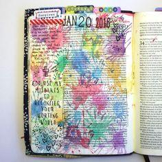 Genesis 33 Bible Art Journaling