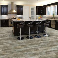 love the gray and texture … Acadian Oak Castle & Cottage Hallmark Luxury Vinyl Flooring