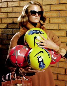 A Perfect Mom - Constance Jablonski by Miles Aldridge for Vogue Italia