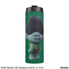 Trolls   Branch - Mr. Grumpus in the House Thermal Tumbler