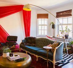 House Tour: A Bold Chicago Apartment Bursting With DIY