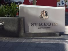 The St. Regis San Francisco is very cool, beautiful and luxurious, in an accessible way. You walk in off the street and know that you are in a hip, high end