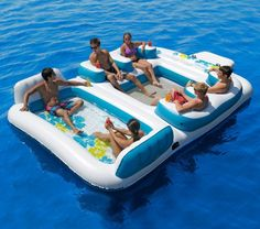 Blue Lagoon Floating Island | 22 Ridiculously Awesome Floats