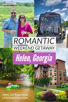 Visiting a town like Helen GA is perfect for a romantic weekend getaway. Not only is this beautiful town only an hour and a half from Atlanta, but it's also nestled snug as a bug in the Northern Georgia Mountains. Packed full of amazing wineries, food, and history, a romantic weekend in Helen GA needs to be on your couples travel bucket list. Best Resorts, Vacation Resorts, Vacation Spots, Vacation Ideas, Vacation Trips, Helen Georgia, Helen Ga, Savannah Georgia, Romantic Weekend Getaways