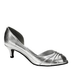 Touch Ups by Benjamin Walk Women's Abby Shoes Synthetic Silver