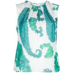 GIAMBATTISTA VALLI floral blouse ($1,000) ❤ liked on Polyvore