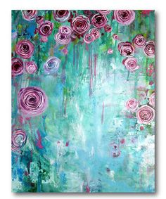 Another great find on #zulily! Hanging Rose II Gallery-Wrapped Canvas #zulilyfinds
