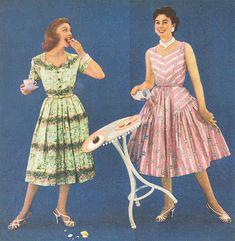 1950s afternoon tea dresses #vintage