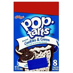 Kelloggs Pop Tarts Frosted Cookies  Cream 400g * Click image for more details.