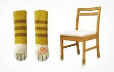 Image result for socks for chairs