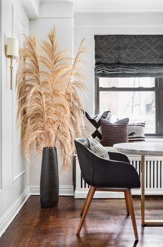 Lori Paranjape Upper East Side Small Apartment Home Tour Diy Xmas, L Eucalyptus, Grass Decor, Interior Architecture, Interior Design, Upper East Side, Kallax, Eclectic Decor, Small Apartments