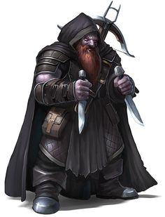 """we-are-rogue: """"Duergar Backstabber - Dwarf by RogierB """" Not nearly enough dwarf rogues these days."""