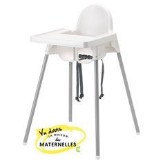 Chaise haute Antilop, Ikea