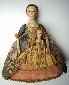 * Poupée anglaise en bois (1760)