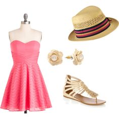 summer.<3, created by megan-boles on Polyvore