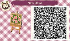 Flower bed acnl qr code