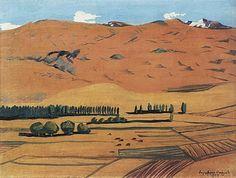 'Armenia', Oil On Canvas by Martiros Saryan (1880-1972, Russia)