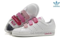a3e29c0b72 Soldes Magasiner Pour Pas Cher Aaaa Adidas Stan Smith Velcro Femme/Homme  Blanche Rose Baskets Pas Cher Du Tout Free Shipping ZTCFpZ, Price: $71.00 -  Adidas ...