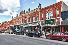 Downtown Port Perry, Ontario Ontario Place, O Canada, Small Towns, Places Ive Been, Street View, Cottage, Travel, Viajes, Cottages