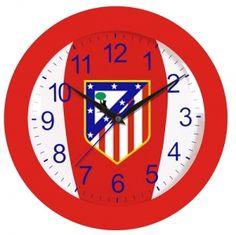 Atlético Madrid CF Reloj pared licencia Atletico Madrid CF #Grandetalles
