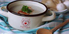 Krémová šampiňónovo-hlivová polievočka - Tinkine recepty