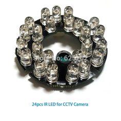 Economical 24pcs IR leds for cctv camera with long distance