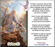 salmo 91 para imprimir catolico - Buscar con Google                                                                                                                                                                                 Mais