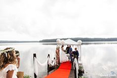 A beautiful ceremony in the rain at a summer cottage, couple portraits on a boat and then the sun came out to celebrate at Adventure Valley at this Porvoo Wedding. Outdoor Ceremony, Wedding Ceremony, Popular Now, Couple Portraits, Finland, Adventure, Couples, Celebrities, Amazing