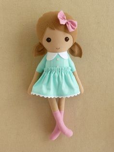 Reserved for Blanca Fabric Doll Rag Doll Light by rovingovine