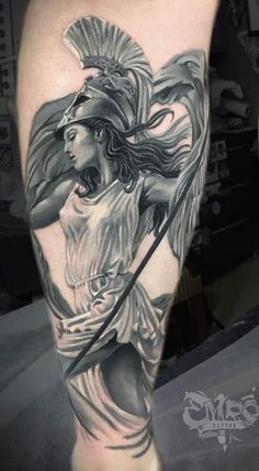 Warrior Hera Tattoo