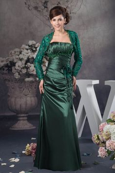 A-line Mother of the Bride Dresses Gorgeous Flowers