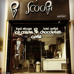 Scoopi Cafè, the only bar in the world where you can try it. #interdema #icecream #expensivefoods #luxury #ScoopiCafè