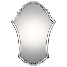 Sleek Modern Beveled Mirror - Shades of Light