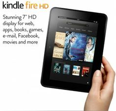 REDUCED TO CLEAR Kindle Fire HD Tablet [2012] 16GB £99 32GB £119 Delivered At Amazon Gratisfaction UK Flash Bargains